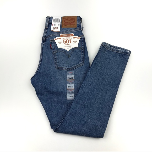 Levi's Denim - NWT LEVI'S 501 Button Fly Wedgie Fit Jeans